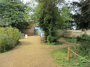 The Visitor Centre at Strumpshaw Fen