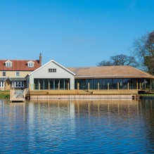 The wedding venue at The Boathouse
