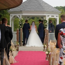 Getting married in the idyllic setting of The Boathouse and Ormesby Broad