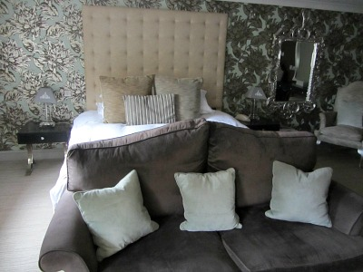 A delux room at The Hoste