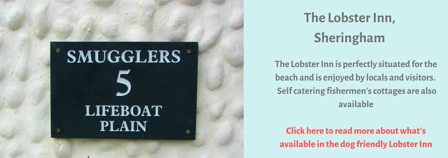 The Lobster Inn in Sheringham where smuggling took place!