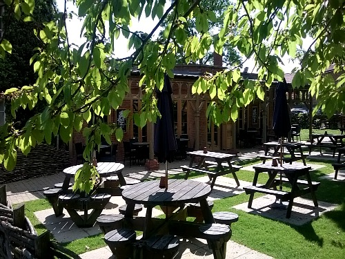 The Lodge Inn Beer Garden