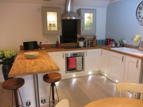 The modern kitchen in The Loft