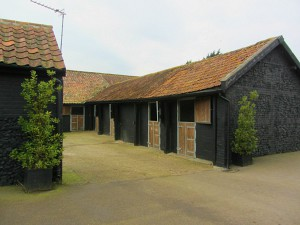 The stable entrance of The Loft