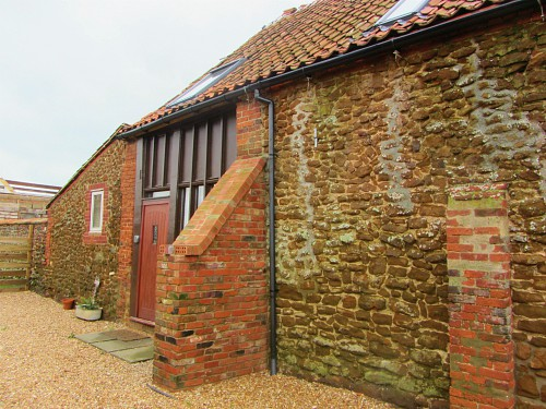 The Old Barn with carrstone exterior