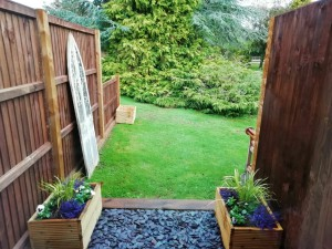 The small private garden for use with The Old Tractor Barn
