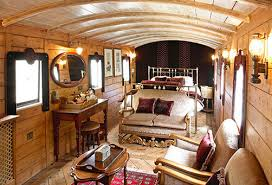 The Railway Carriage at The Hoste Arms