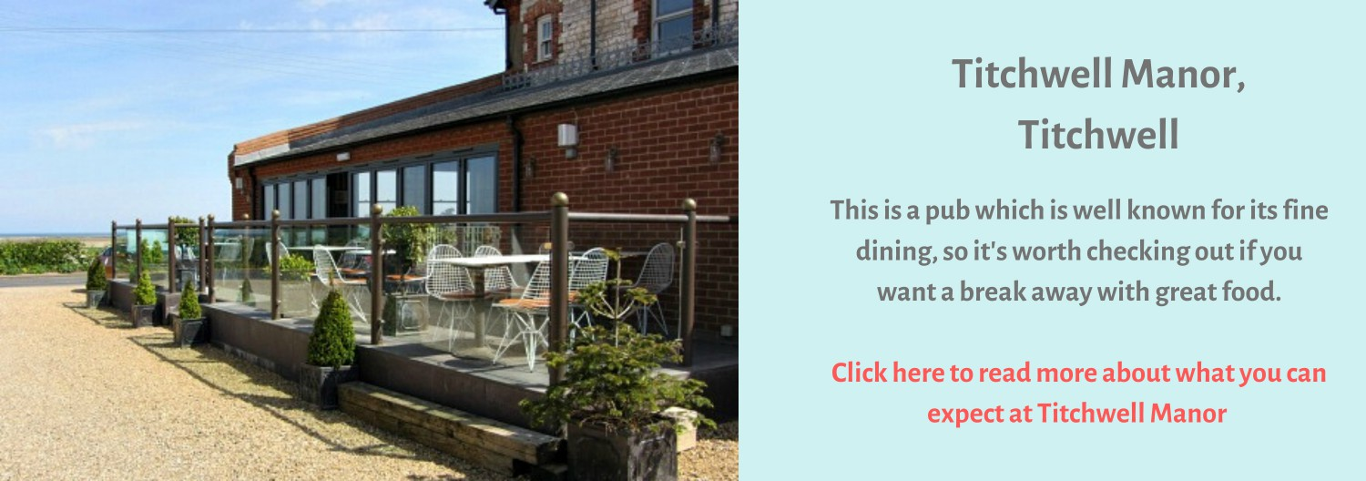 Titchwell Manor provides fine dining as well as dog friendly accommodation