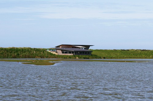 The Parrinder Hide at RSPB Titchwell