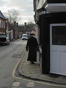 A friar in the village