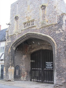 The Norman Gate in Walsingham