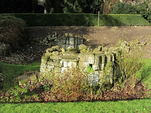 Remains of the west tower of Walsingham Priory