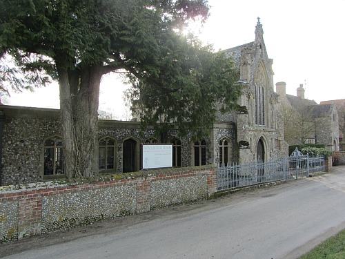The Slipper Chapel, Houghton St Giles, Norfolk