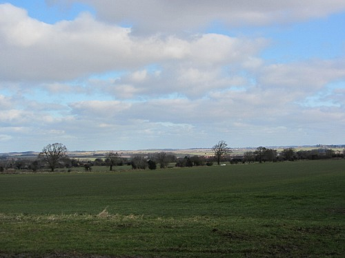 Incredible views over the Norfolk countryside