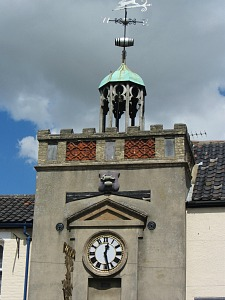Watton's historic Clock Tower