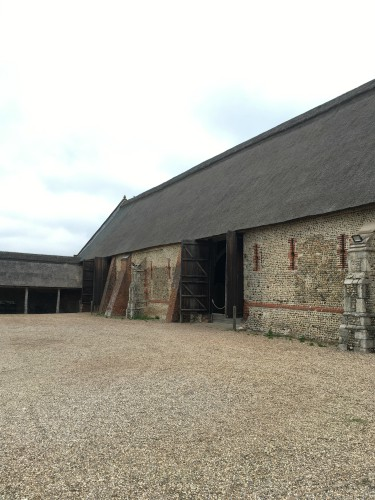 The longest thatched barn in Norfolk, Waxham Barn