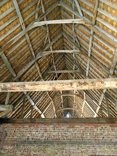 The interior of Waxham Barn