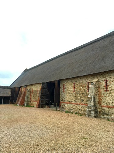 The wonderful thatch on Waxham Barn