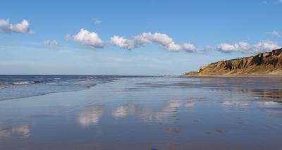 West Runton beach at low tide