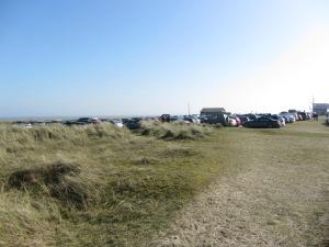 Winterton Beach car park