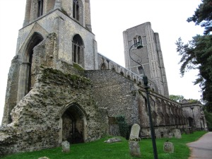 Wymondham Abbey exterior