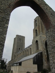 Wymondham Abbey with the new extension