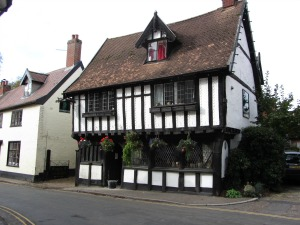 Oldest house in Wymondham