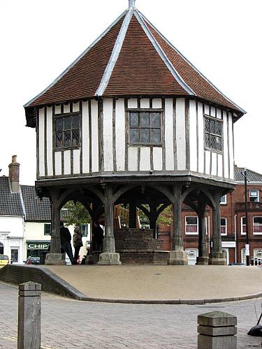 The Market Cross in Wymondham