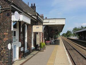 Wymondham railway station