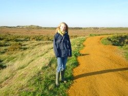 Wonderful walk to Burnham Overy Staithe beach