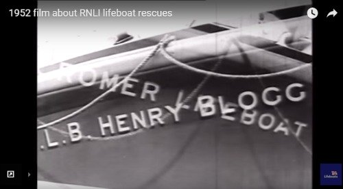 1952 film about lifeboat rescues, including one in Cromer