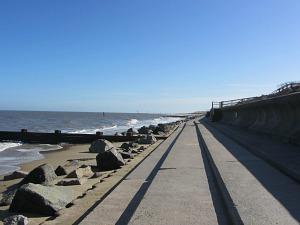Sea Palling sea defences