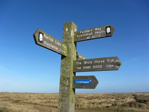 Walk the Peddars Way and Norfolk Coast Path with Explore Norfolk UK