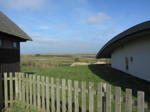 View from NWT Cley Visitor Centre