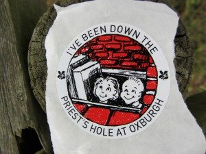 Priests Hole sticker!
