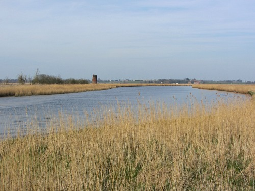 River Yare on the Wherryman's Way