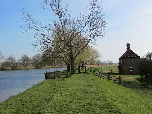 Beautiful landscape along the Wherryman's Way