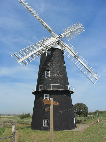 One of the many windmills along the River Yare