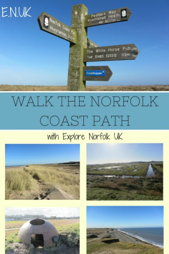 Walking the Norfolk Coast Path
