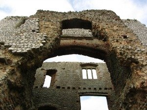 Castle Ruins in Norfolk