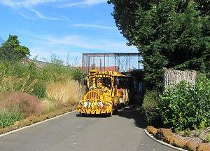 The Roadtrain around Banham Zoo