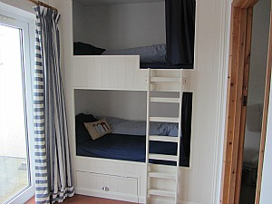 Clever use of space with these excellent bunk beds
