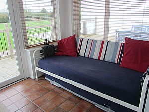 Great space for teenagers at Big Sky Cottages,Norfolk