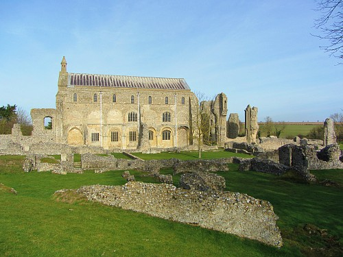 Binham Priory ruins
