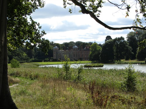 Blickling Hall from the lake
