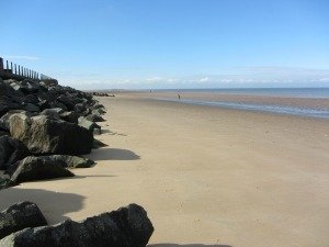 Brancaster Beach looking West