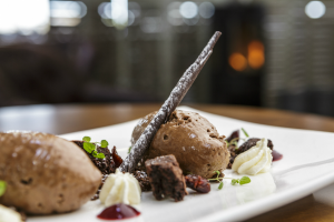 Decadent Briarfields chocolate mousse