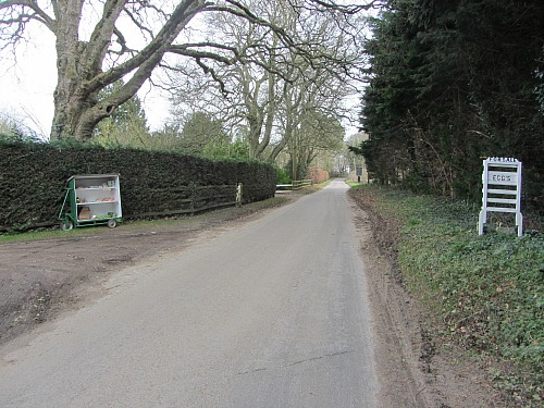 The tranquil lanes around Castle Acre