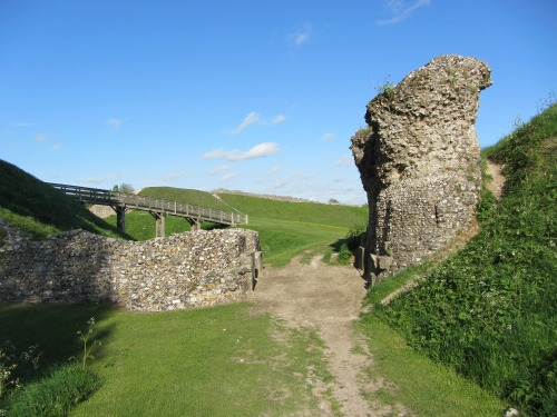 Ruins of Castle Acre Castle