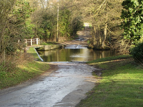 The ford at West Acre